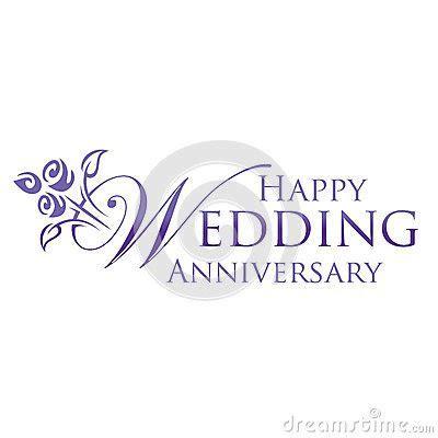 Happy Wedding Anniversary Stock Image   Image: 26278681