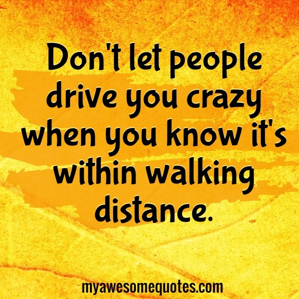 Dont Let People Drive You Crazy Quotes Awesome Quotes About Life