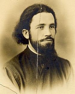 Sfântul Gherasim Iscu la tinerețe