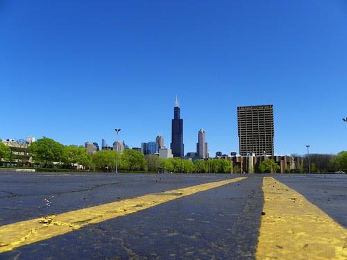 4.18.2010 sunday in Chicago (16) Willis Tower , UIC
