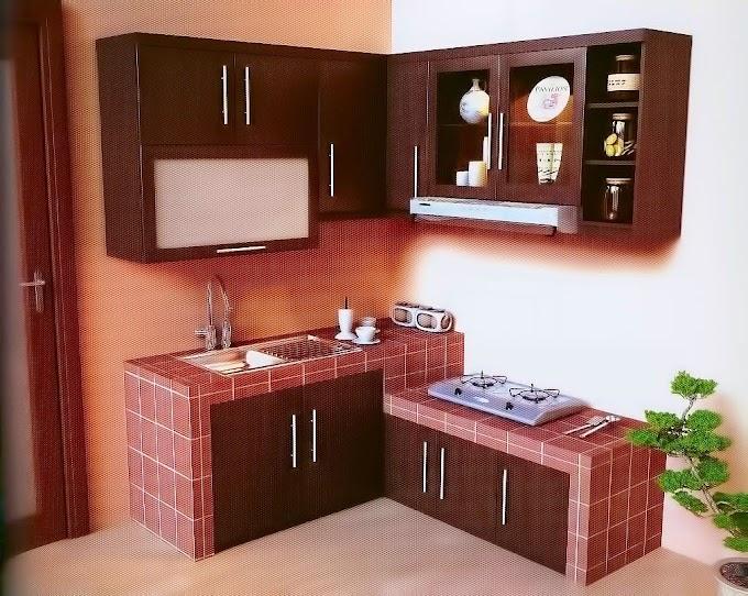 Lemari Dapur Kayu Modern | Ide Rumah Minimalis