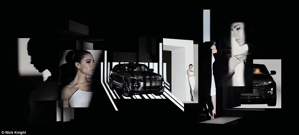Ser como Posh!  O £ 80.000 Range Rover Evoque tem como objetivo atrair a classe super-rica e crescente meio na China comunista, foram os primeiros modelos serão vendidos