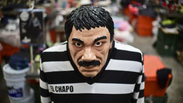 Disfraz de El Chapo