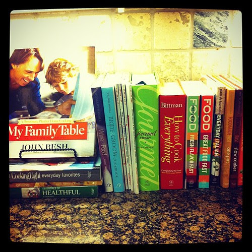 {Day 11} Cookbook Nook of my #kitchen #mayphotoaday #mayphotoaday