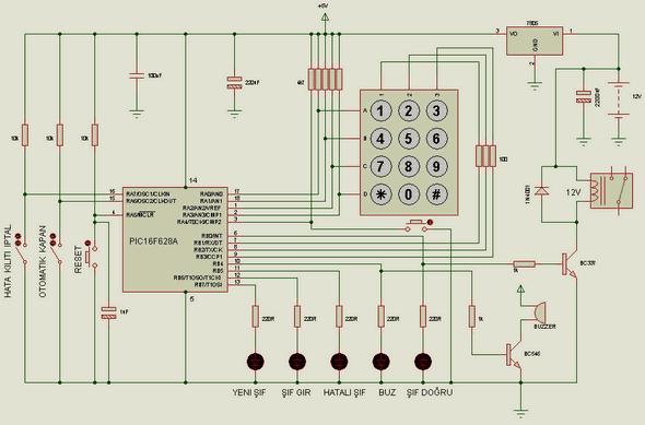 PIC16F628-mã hóa-key