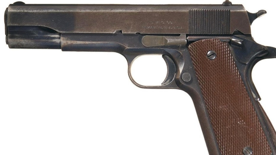 The historic and extremely rare Singer M1911 (Rock Island Auction)
