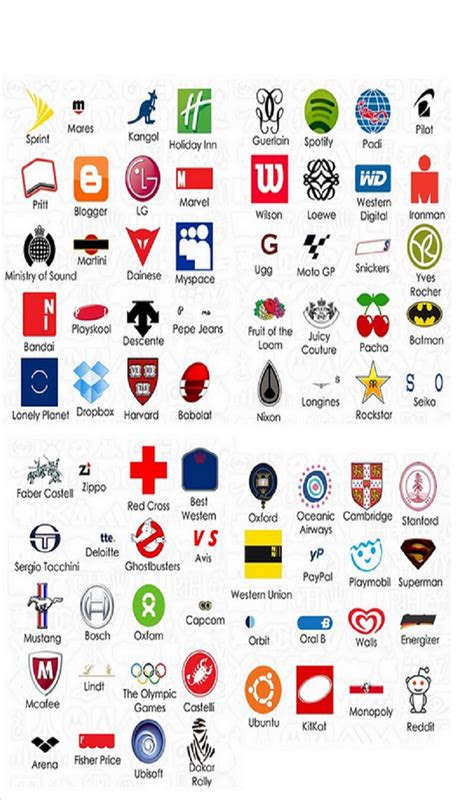 logo quiz answers  android video games  play logos