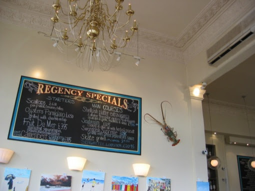 lunch at Regency