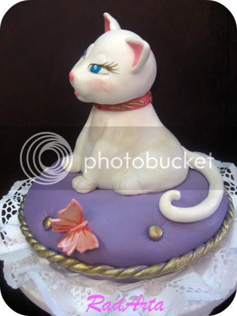 de�ija torta,dekor masa,ma�ka