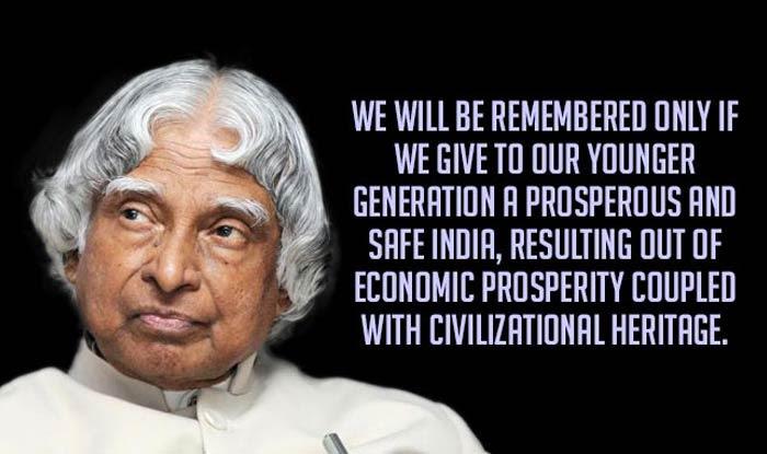 Apj Abdul Kalam 1st Death Anniversary Top 15 Quotes Recalling The