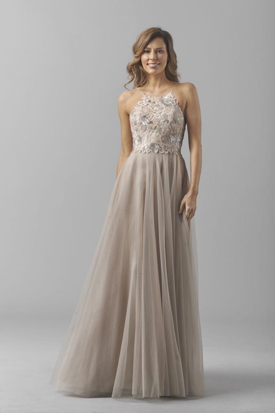 8356i Watters Bridesmaid Dress F15