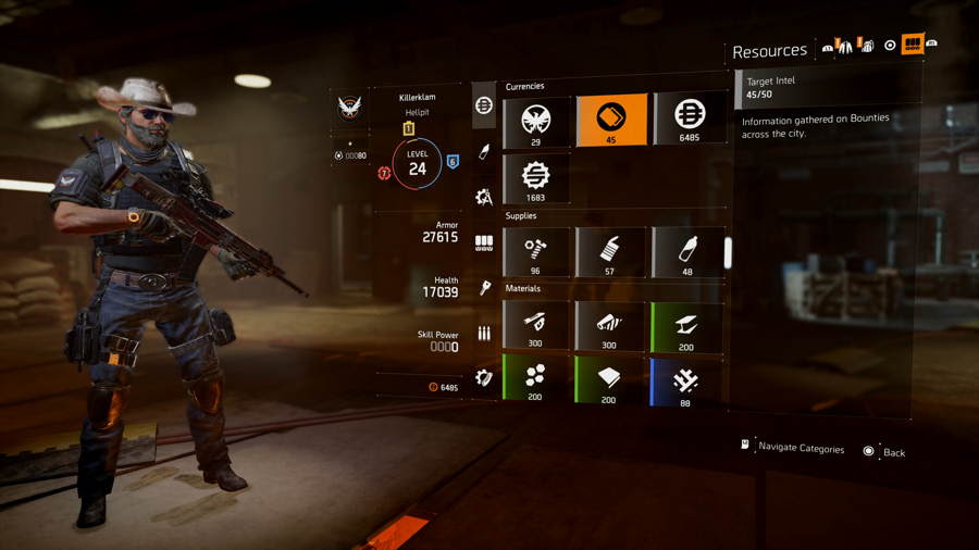 Where To Find Tar Intel In The Division 2