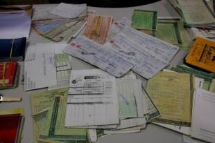 """Documentos apreendidos nas operações """"Morta Viva"""" e """"Marajá"""", contra agiotagem e desvio de verba pública em prefeituras do Maranhão"""