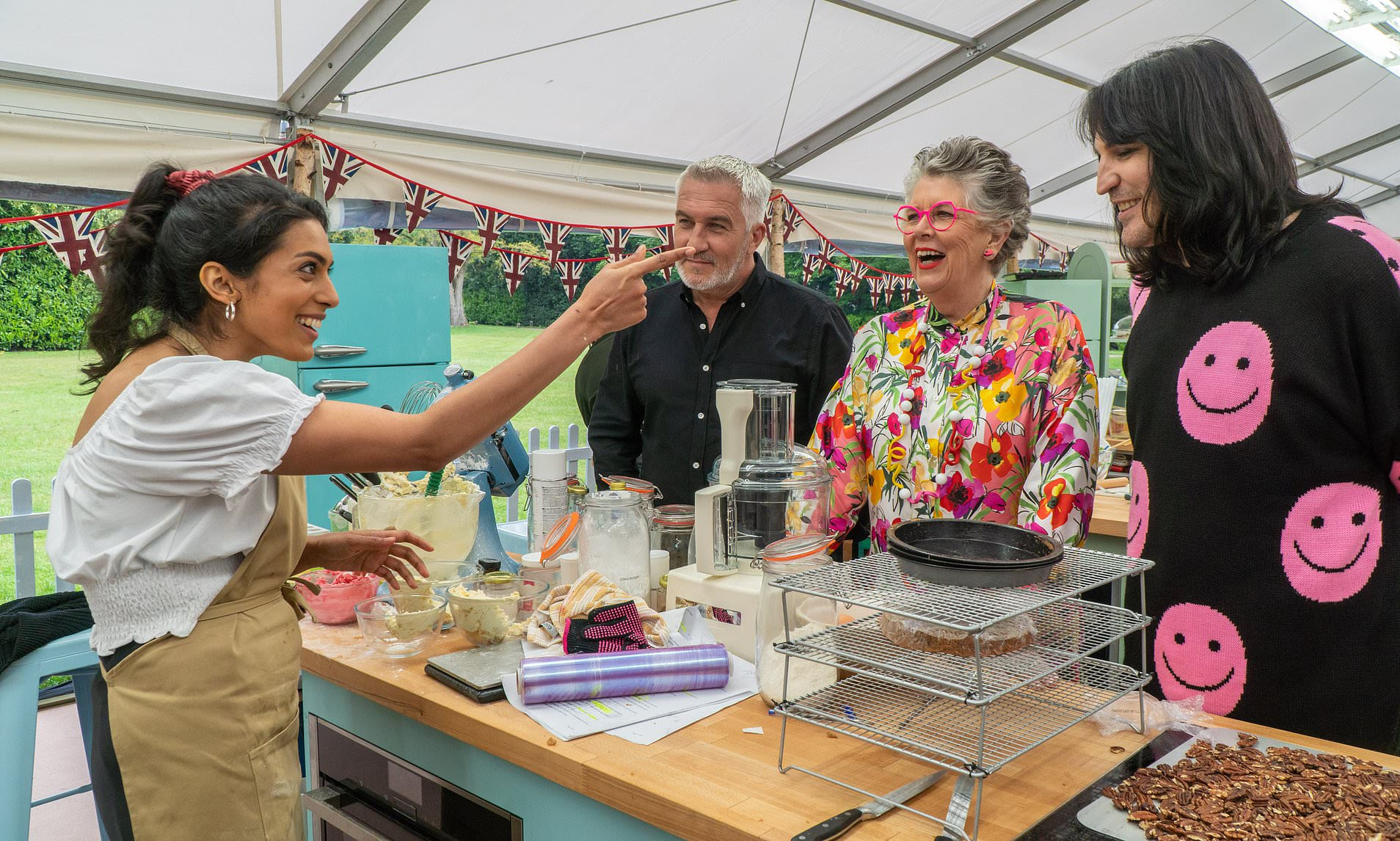 The Great British Bake Off FIRST LOOK: 12 new contestants take on a series of challenges