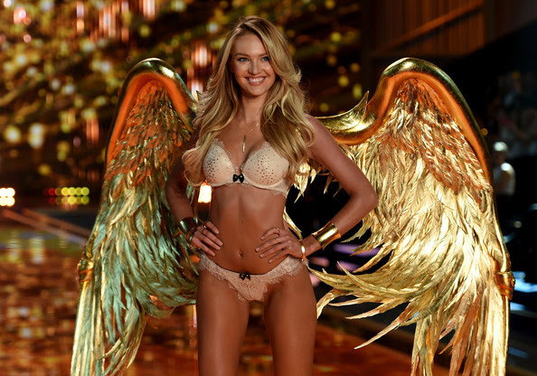 Candice Swanepoel Gets Gilded