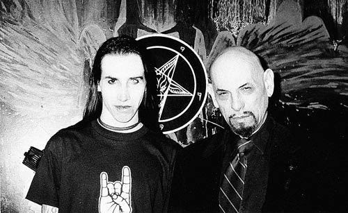 Anton LaVey and Marilyn Manson