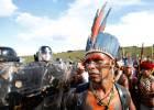 La lucha por la tierra de los indios gamela