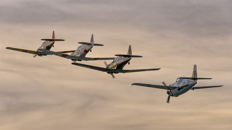 Harvard (SNJ-5/ T-6) and Wildcat formation
