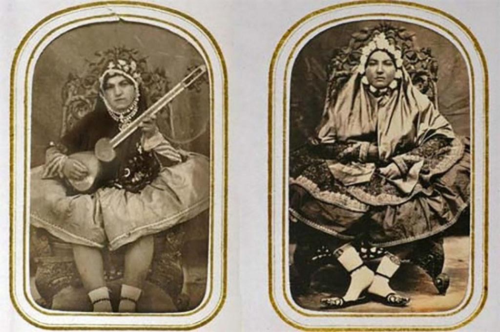 Assim eram as 100 concubinas do harém do Xá de Pérsia no Século XIX 10