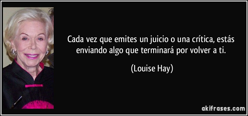 Frase Louise Hay