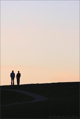 Two Walkers Were Approaching