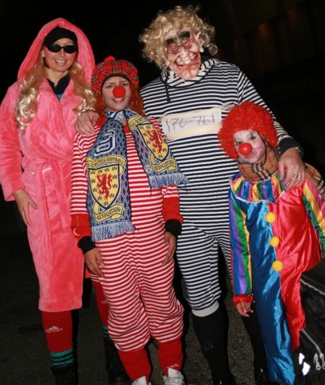 Big mama Eli, Patrick, Henning og Kalyani i Barnekjippen!