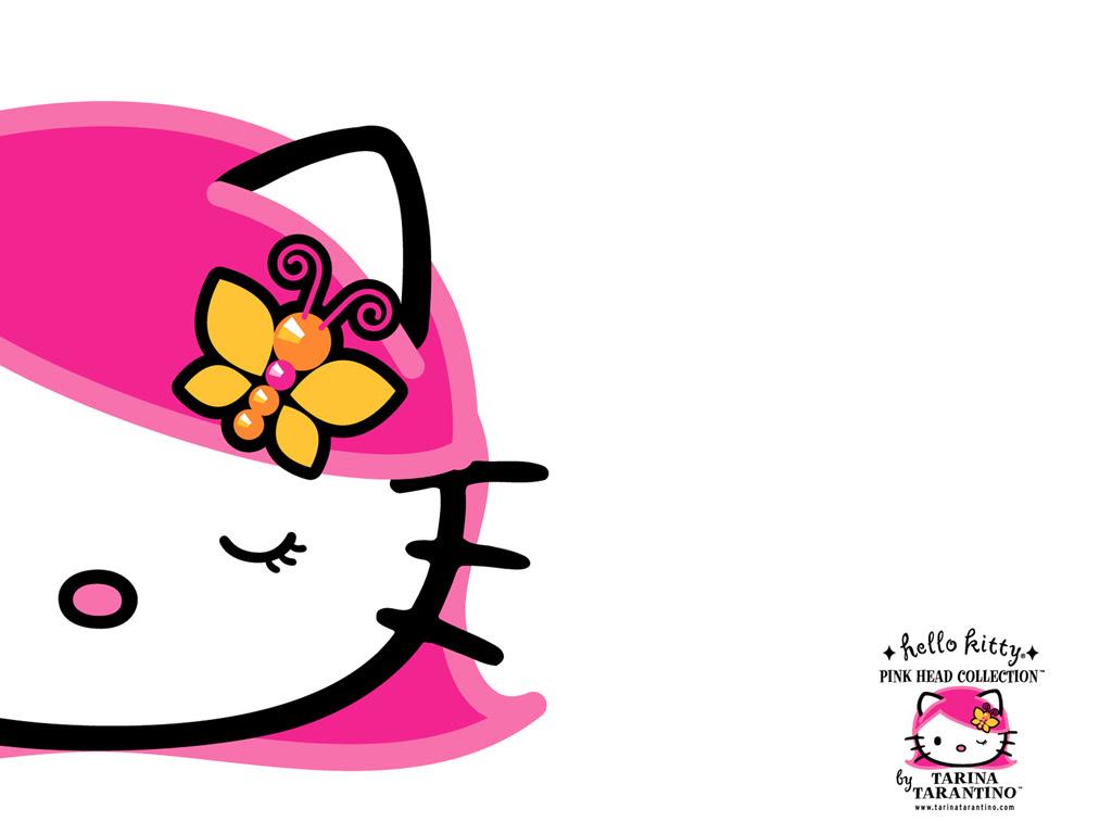 Pink Head Hello Kitty Wallpaper 1582545 Fanpop
