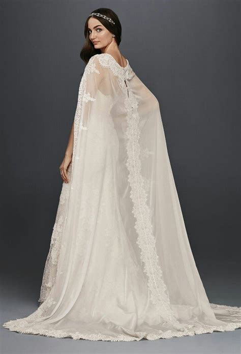 Strapless Lace Column/Sheath Wedding Gown With Chiffon