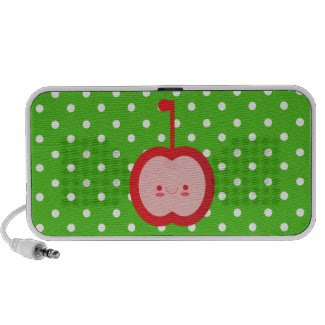 Kawaii Apple Doodle Speaker doodle