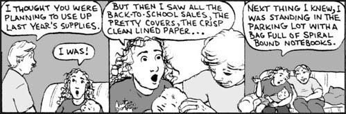 Home Spun comic strip #524