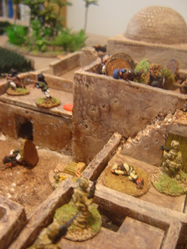 Assaulting remnants of group inside Objective 9