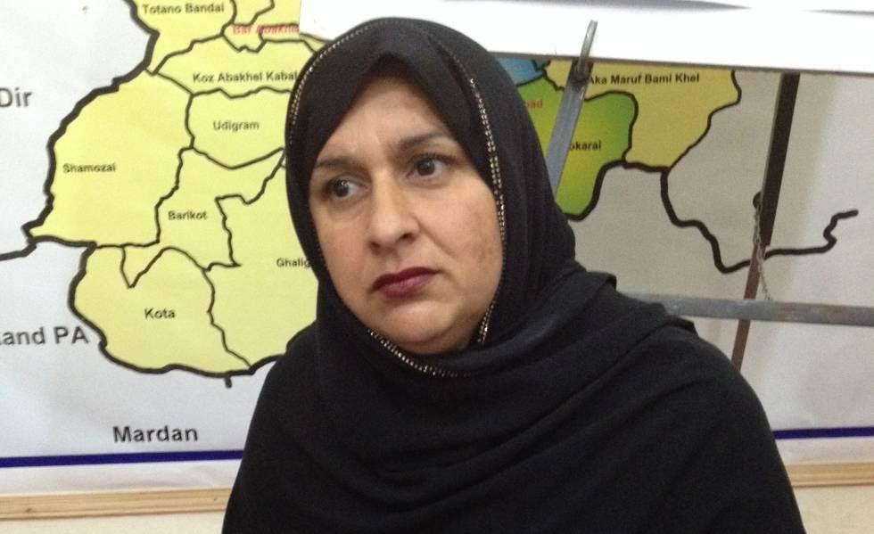 Tabassum Adnan, creadora del primer consejo femenino en una zona antaño bajo el dominio de los talibanes.