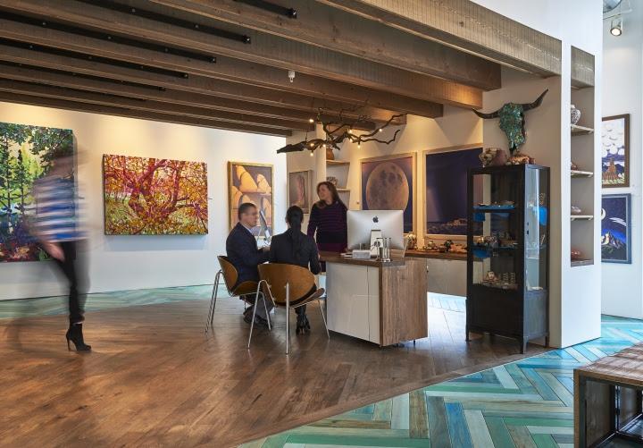 » Modern West Fine Art Gallery by WOW atelier, Salt Lake ...