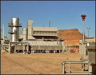 Millcreek Power Generation Facility In St George Utah