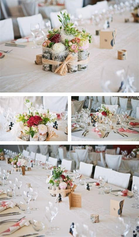 Natural Wedding Decor {Décoration de mariage nature