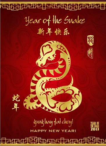 5 Savories for the Year of the Snake!