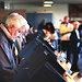 Voters cast ballots at Reedurban United Presbyterian Church in Massillon, Ohio.