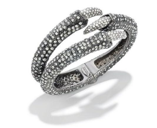 06 Roberto Cavalli Mantle claw bracelet