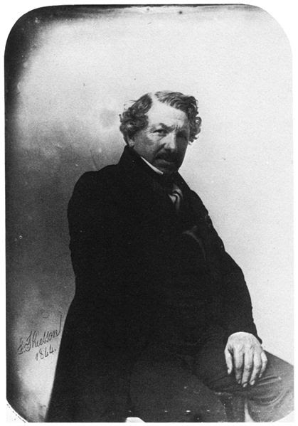 Louis Daguerre Portraits de gens célèbres par Felix Nadar