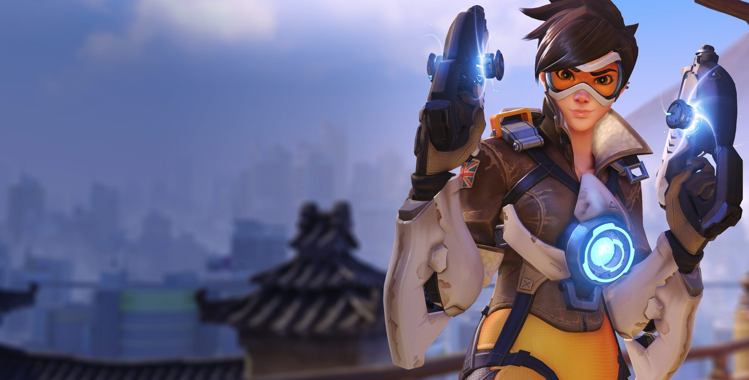 Tracer Blizzard S Overwatch 壁紙 39681572 ファンポップ