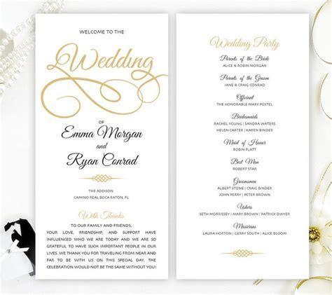 17 Best ideas about Wedding Programs Simple on Pinterest
