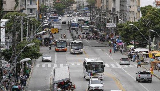 Avenida Conde da Boa Vista Foto - Ricardo Fernandes DP/D.A.Press