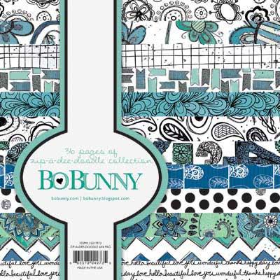 Bo Bunny Zip-A-Dee Doodle 6x6