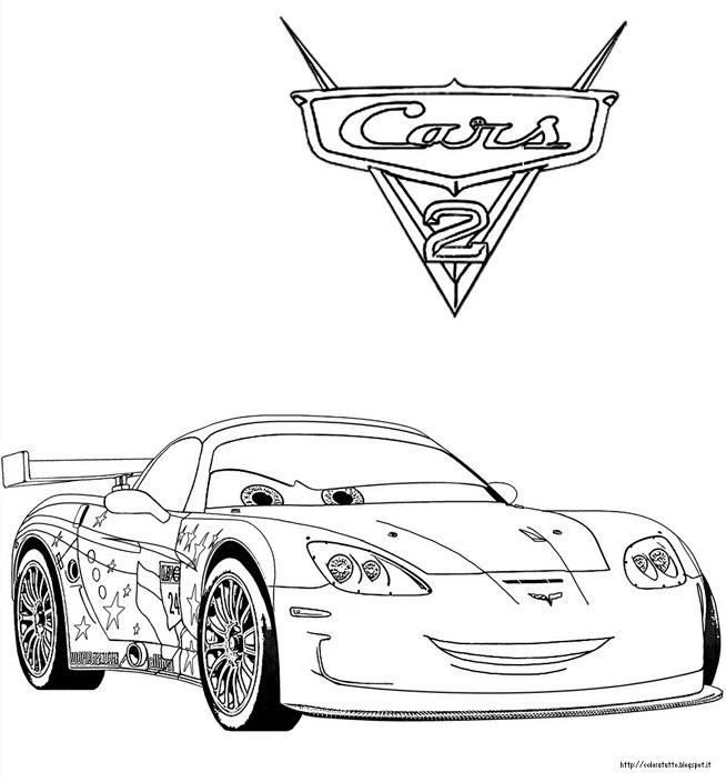 Disegni Da Colorare E Stampare Cars 2 Cars 2 Disegni Da Colorare