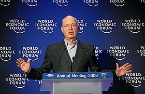 Davos, Switzelrand, Klaus Schwab, Founder and ...