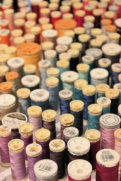 sewing thread: reminds me i have to organise mine