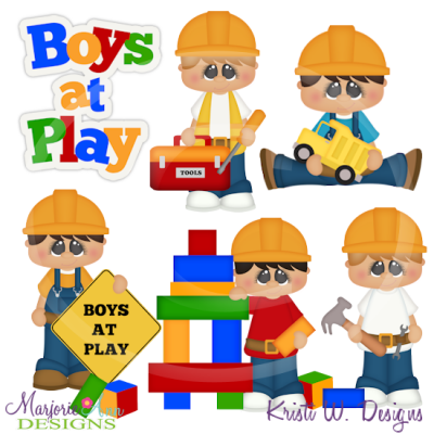 Building Buddies Cutting Files-Includes Clipart