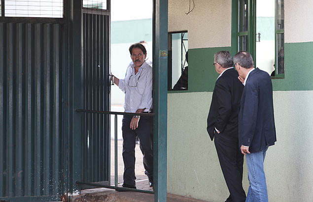 Delúbio Soares deixa o Centro de Progressão de Pena (CPP) para trabalhar na CUT nacional