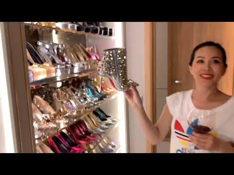 Trấn Thành khám phá biệt thự triệu đô của hoa hậu Thu Hoài. Tủ quần áo còn hơn nghệ sỹ