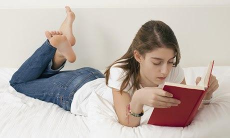 Teenage reader